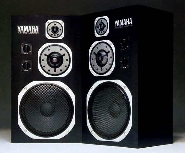 Легендарные акустические системы: флагман 70-х — 80-х— YAMAHA NS-1000M, фанера и бериллий за 290 000 иен - 1