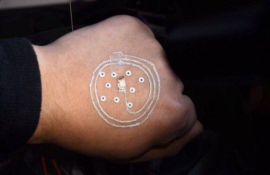 Сенсоры будут наносить на кожу человека с помощью 3Д-принтера