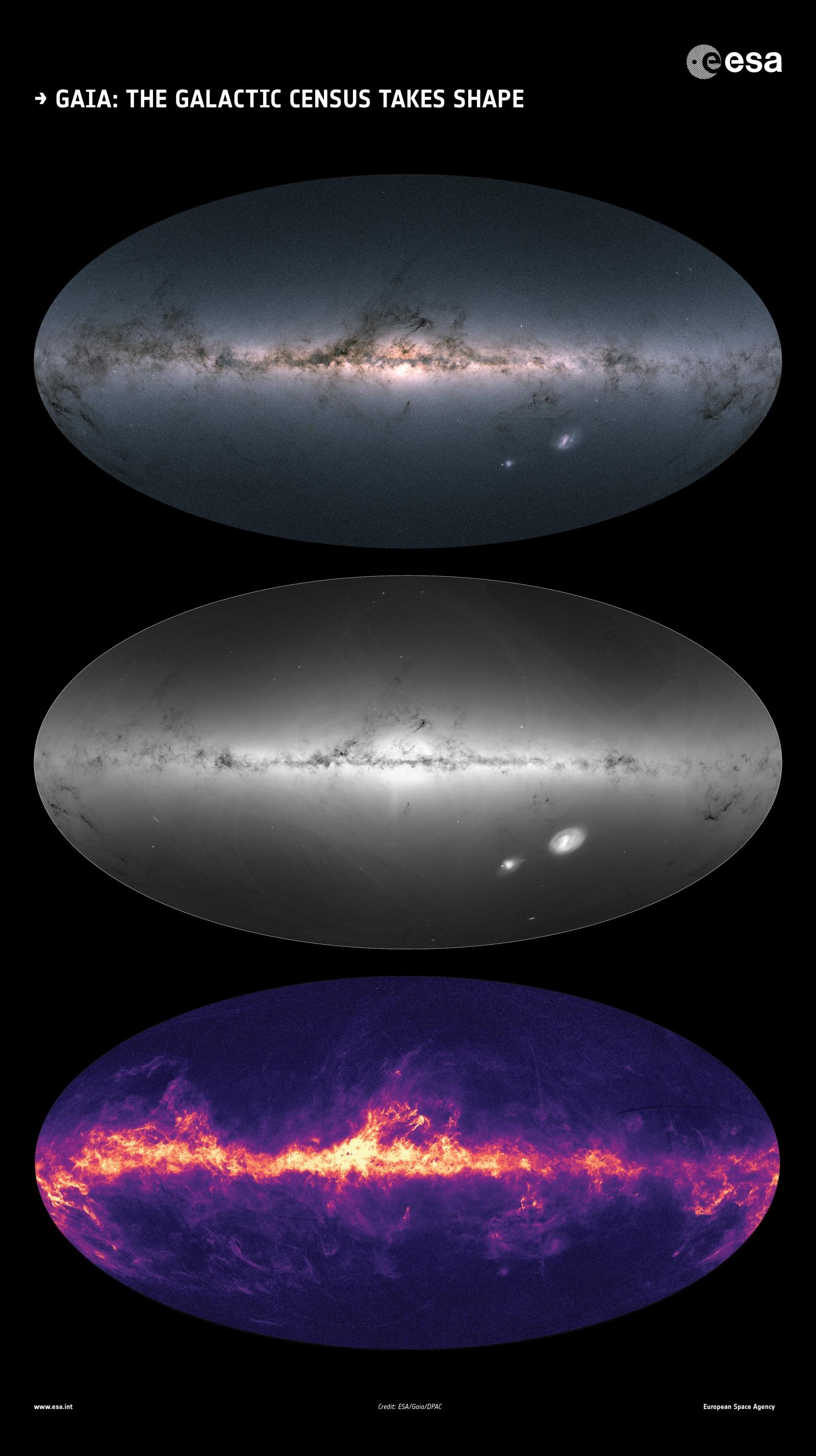 Специалисты ESA создали самую полную звездную карту нашей галактики - 3