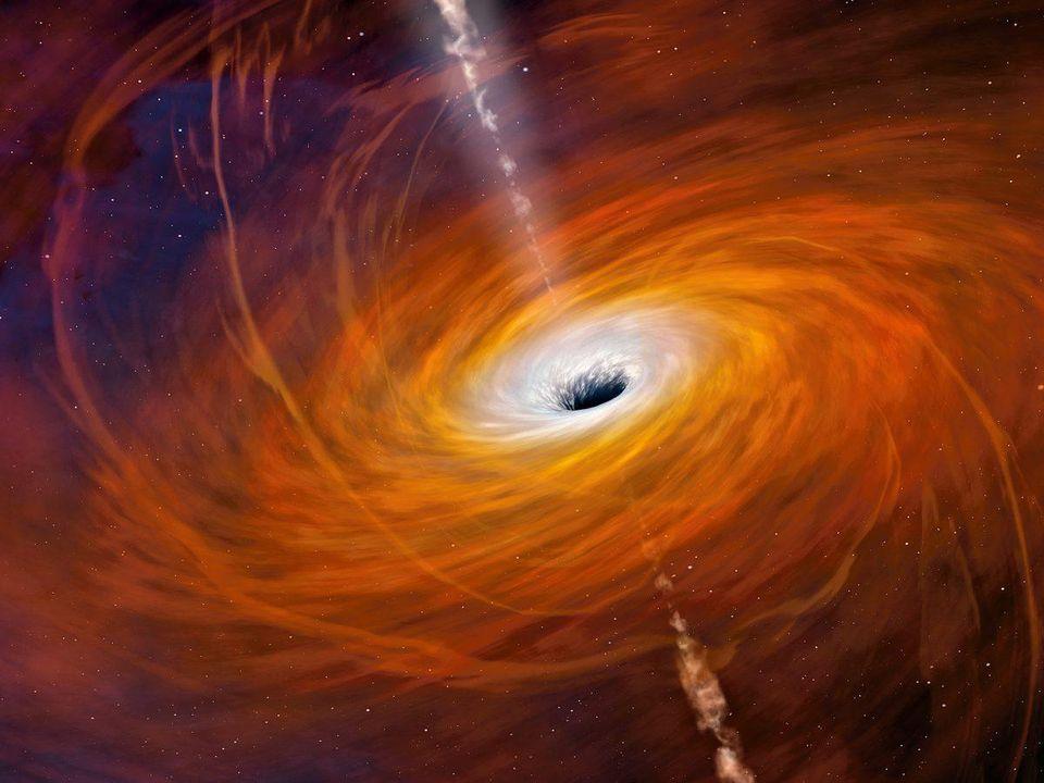 Спросите Итана: как излучение Хокинга и релятивистские струи убегают от притяжения чёрной дыры? - 4