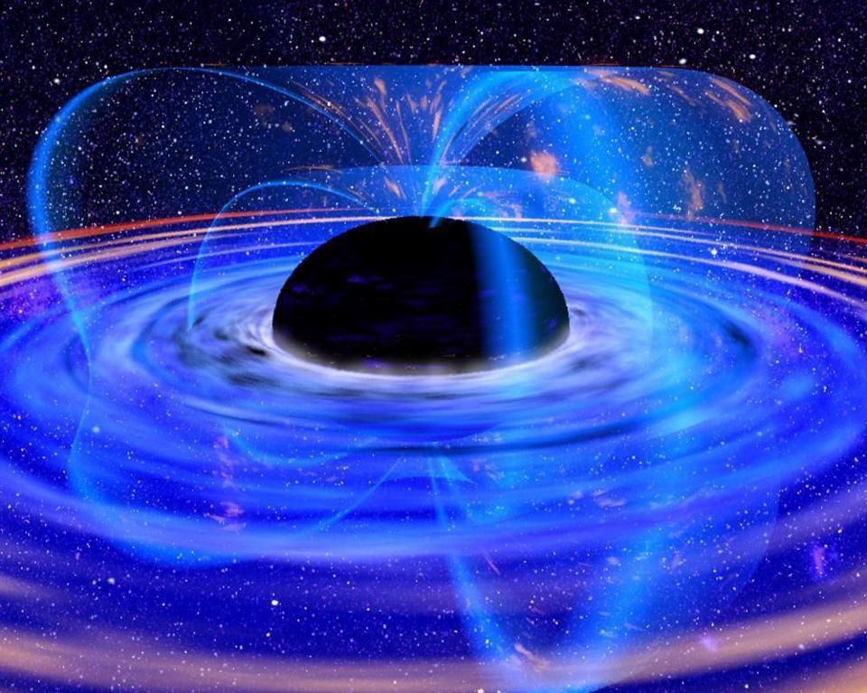 Спросите Итана: как излучение Хокинга и релятивистские струи убегают от притяжения чёрной дыры? - 7