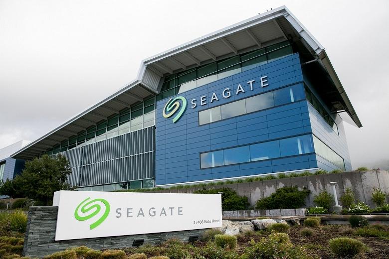 Доход Seagate в минувшем квартале составил 2,8 млрд долларов