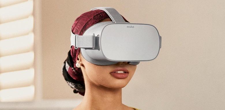 Гарнитура виртуальной реальности Oculus Go поступила в продажу