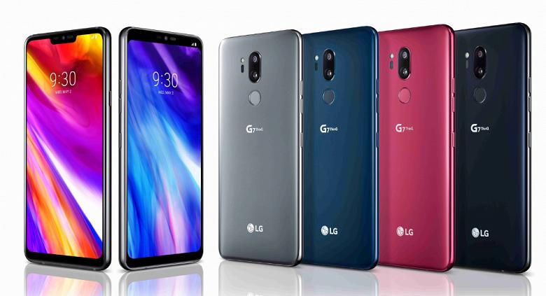 Представлен смартфон LG G7 ThinQ - 1