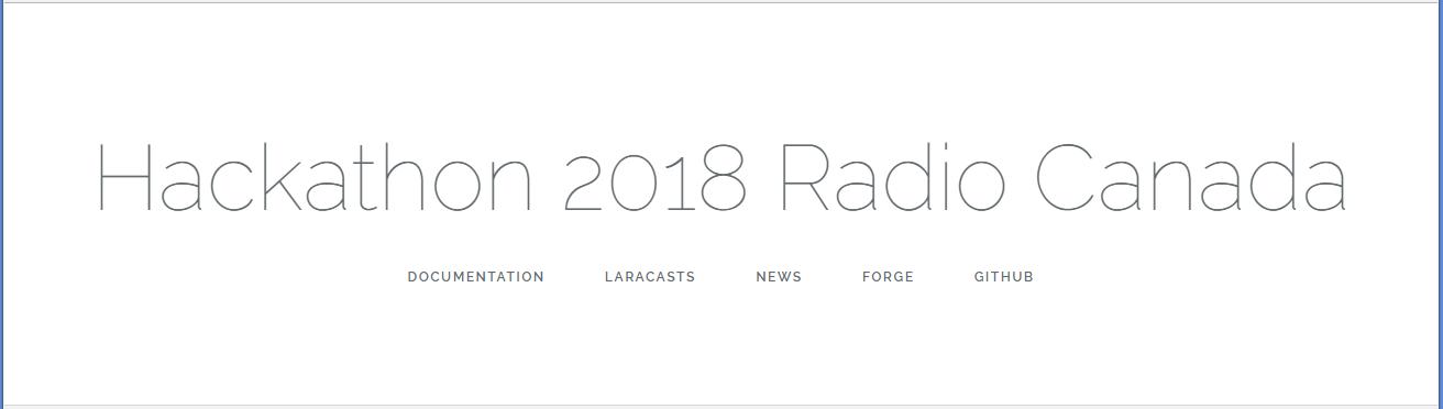 Есть ли порох в пороховницах? Hackathon Radio Canada 2018 (Часть третья — На Старт! Внимание! Марш!) - 6