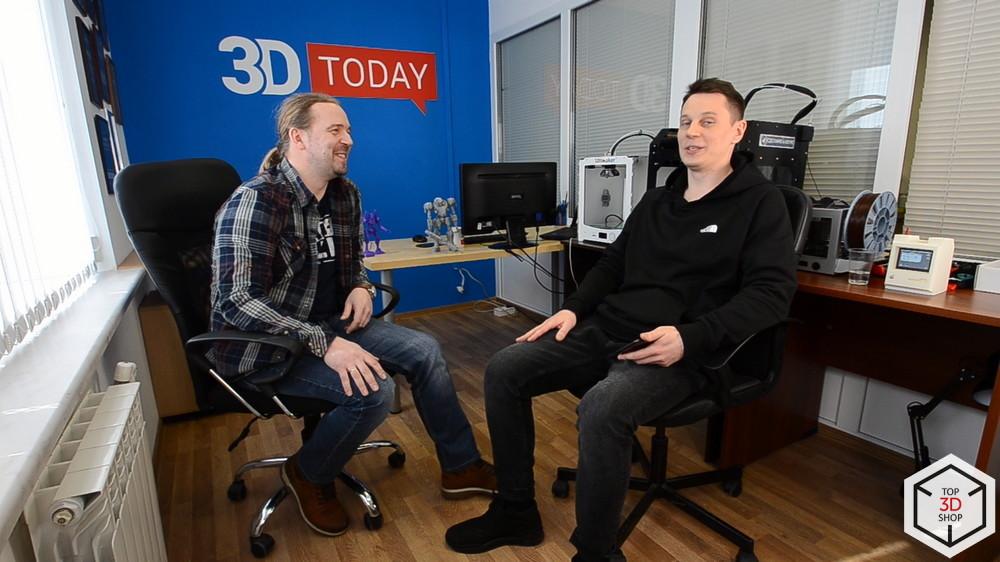 3D-влог #5: Мейкеры в России — 3D-печать и косплей. Интервью с создателем 3DToday - 33