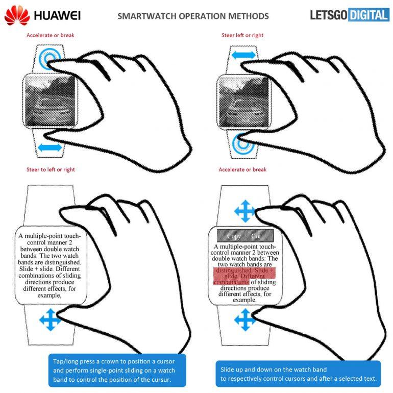 Huawei запатентовала игровые часы