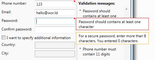 ReactiveValidation: валидация данных в WPF - 1