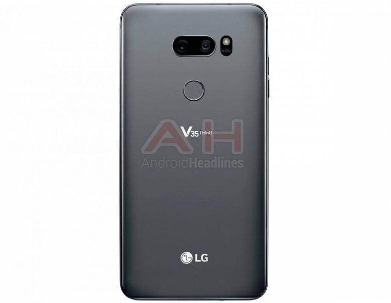 Опубликованы изображения смартфона LG V35 ThinQ