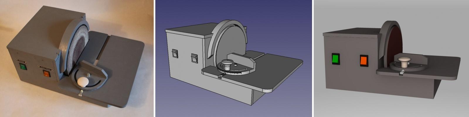Тарельчатый шлифовальный станок - 1