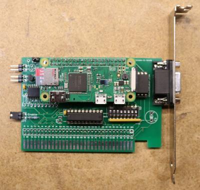 Эмулятор мультикарты с дисководом для компьютеров с шиной ISA - 1