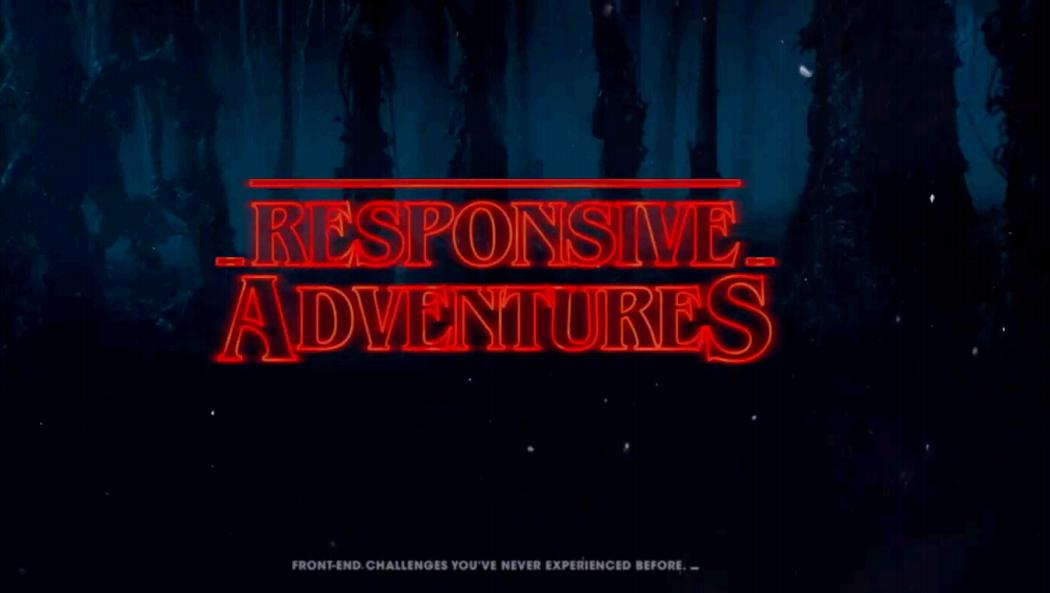 New Adventures in Responsive Web Design - 1