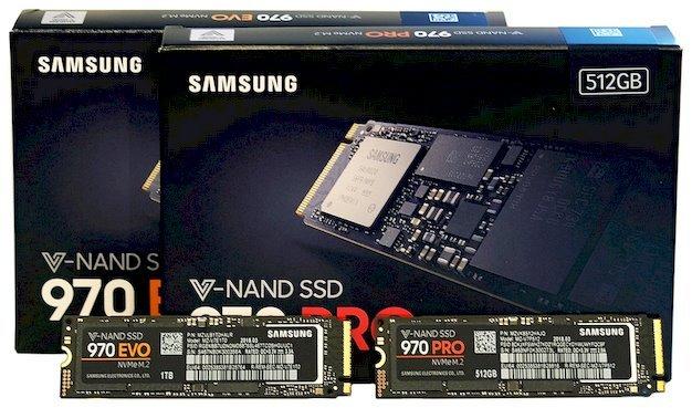 Цены на SSD Samsung 970 Pro и 970 Evo оказались ниже заявленных изначально