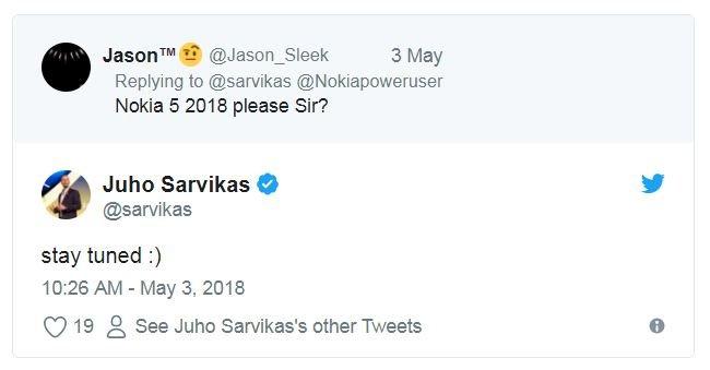 Когда будет представлен смартфон Nokia 5 образца 2018 года — пока неизвестно