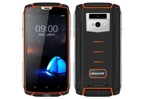 Защищенный смартфон Vkworld VK7000 получил поддержку беспроводной зарядки