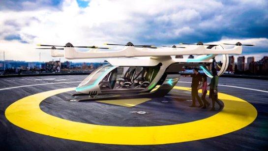Uber расширяет сотрудничество с NASA в проекте «летальных такси»