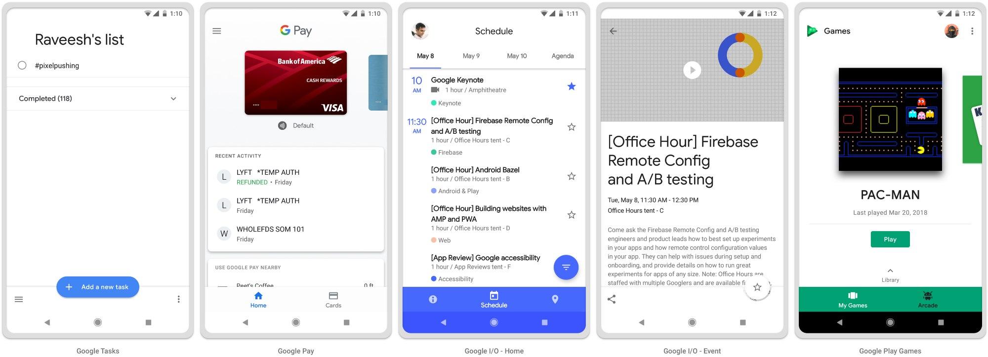 Material Design 2.0 и Android P - 4