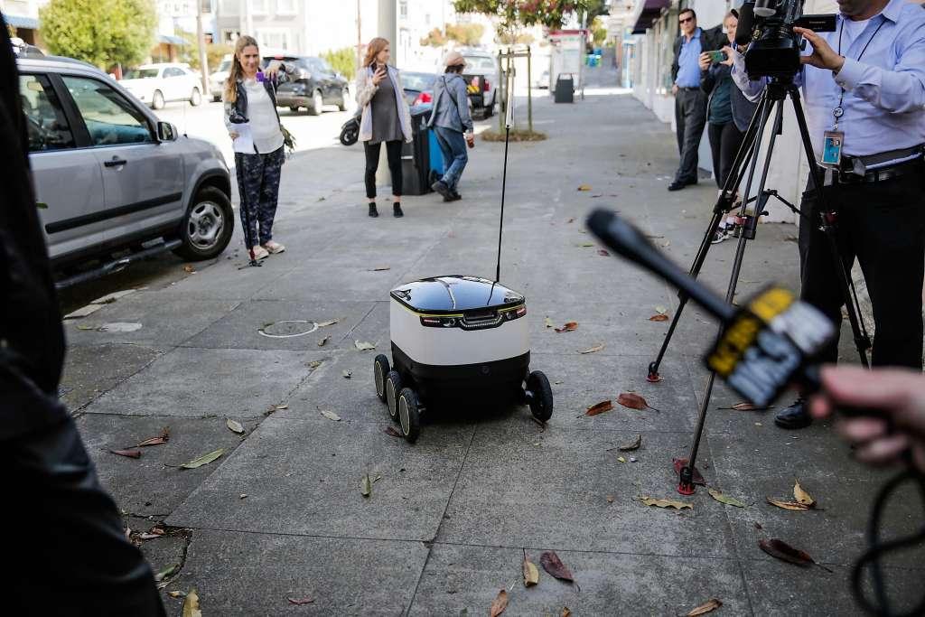 Роботов-курьеров Starship Technologies изгнали из Сан-Франциско - 2