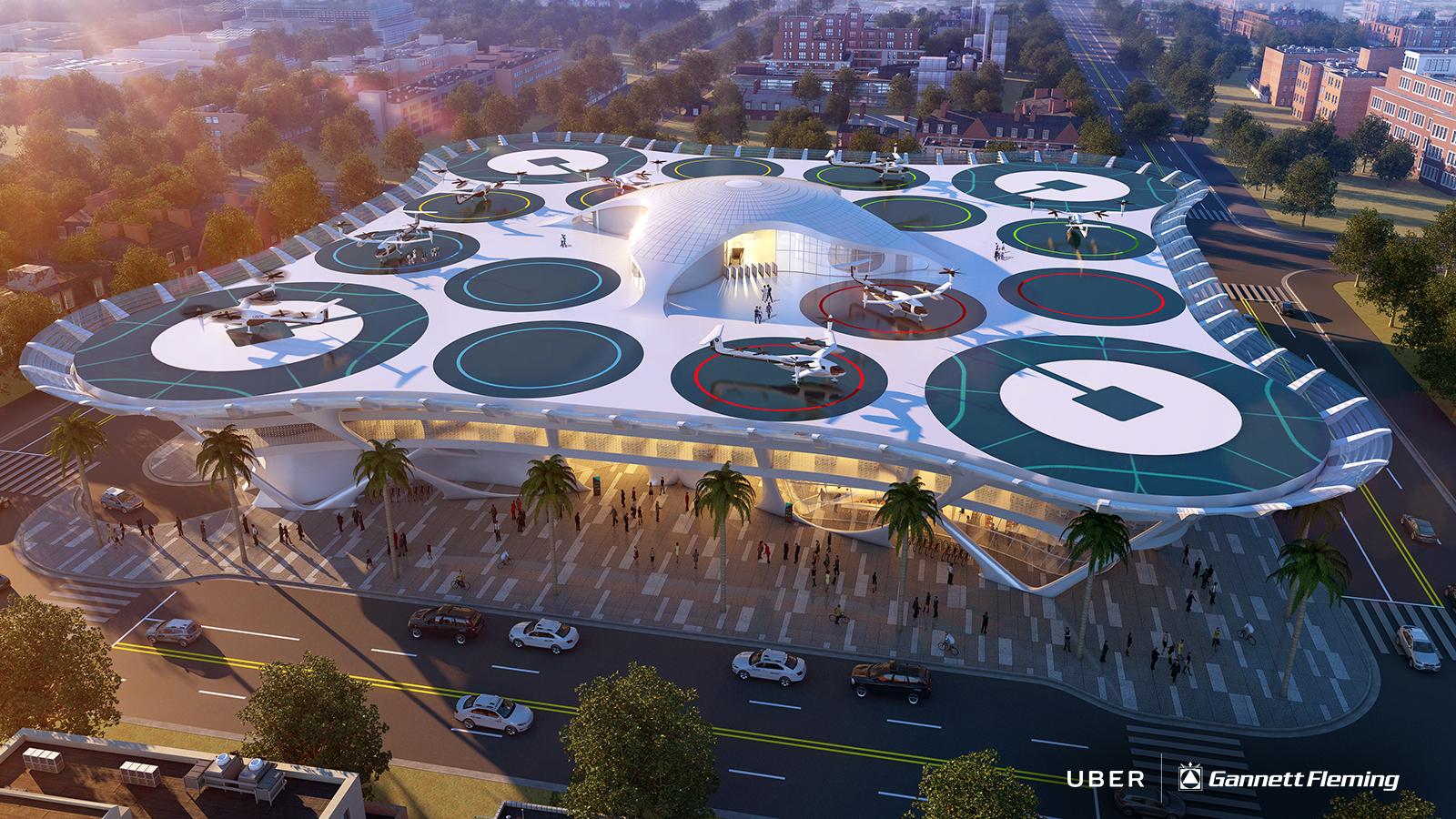 Uber сотрудничает с НАСА по проекту создания пилотируемого такси - 1