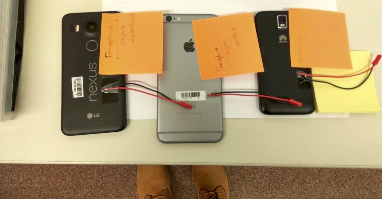 Тестирование телефонов с помощью Arduino - 10