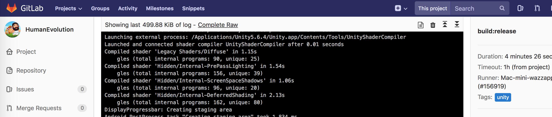 Автоматическая сборка Unity-проектов для Android и iOS с