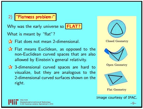 Ранняя вселенная 1. Инфляционная Космология: является ли наша вселенная частью мультивселенной? Часть 1 - 10