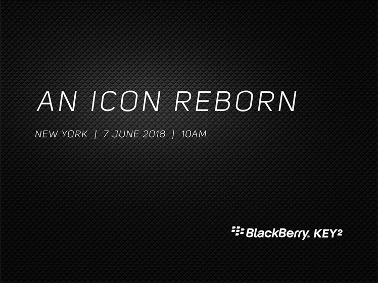 Смартфон BlackBerry KEY 2 представят 7 июня