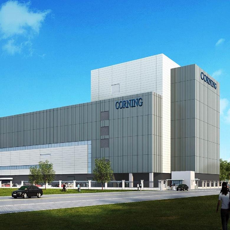 Corning рассчитывает стать первым в мире производителем подложек 10,5G «TFT-класса»