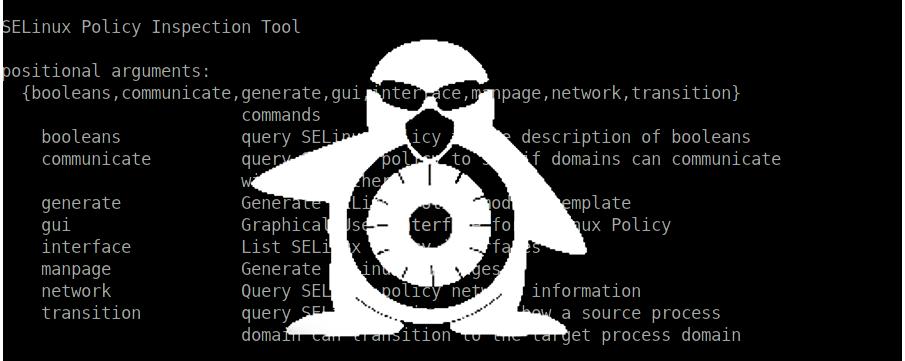 Быстрое создания SELinux-модулей с помощью утилиты sepolicy - 1
