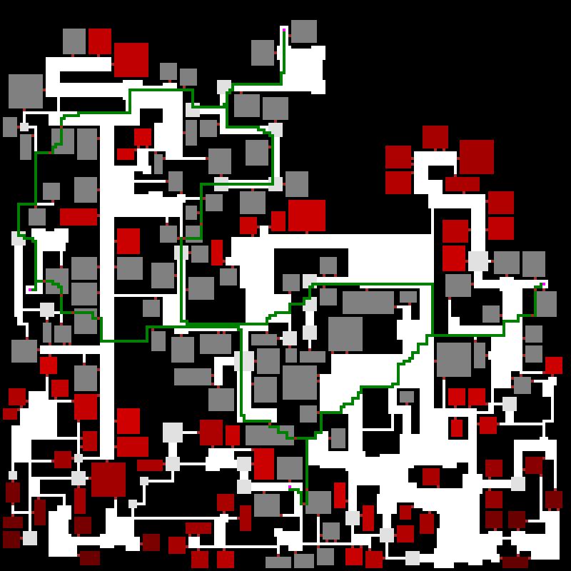 Процедурная генерация подземелий в roguelike - 33