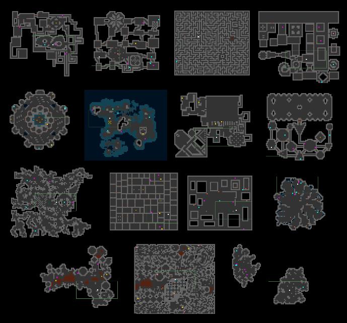 Процедурная генерация подземелий в roguelike - 42
