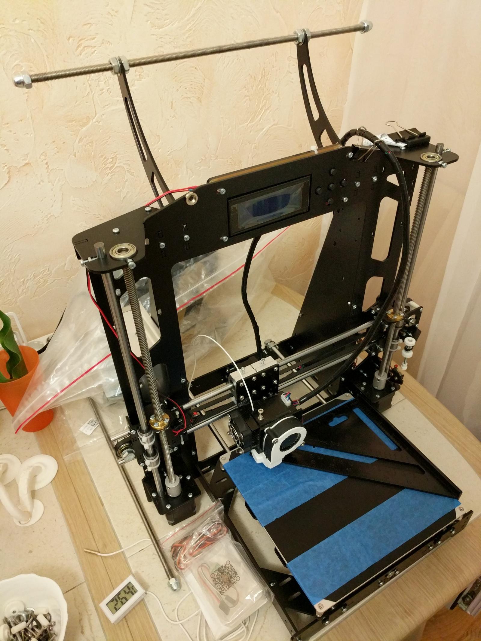 Стальная рама 3д принтера Anet A8 - 2