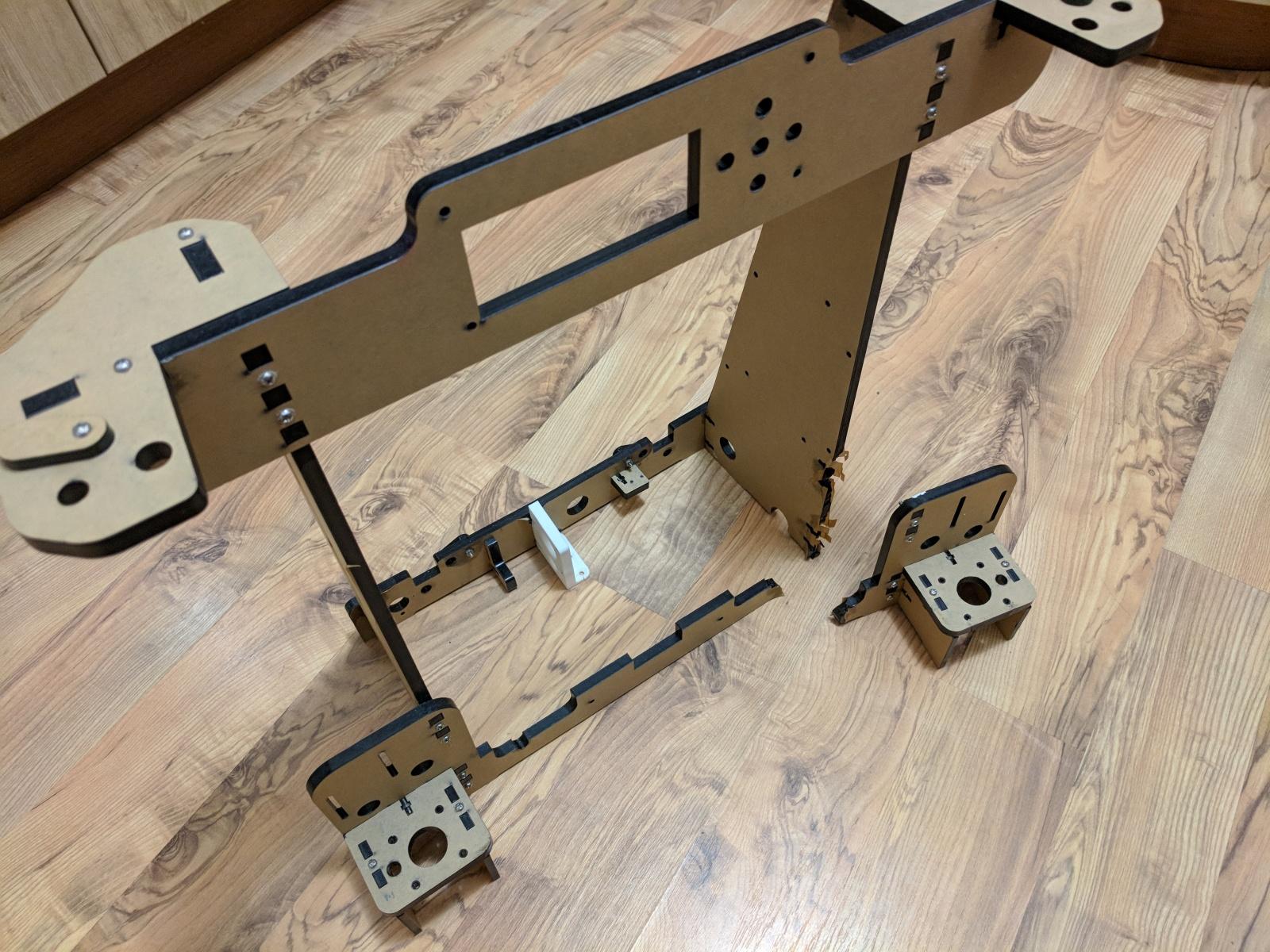 Стальная рама 3д принтера Anet A8 - 3