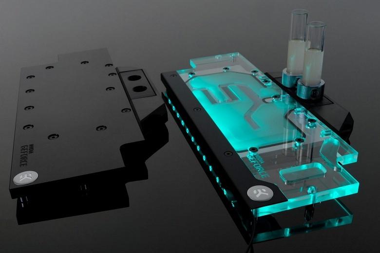 EK Water Blocks выпускает водоблок с полным покрытием для 3D-карт Asus GTX 1070 Ti