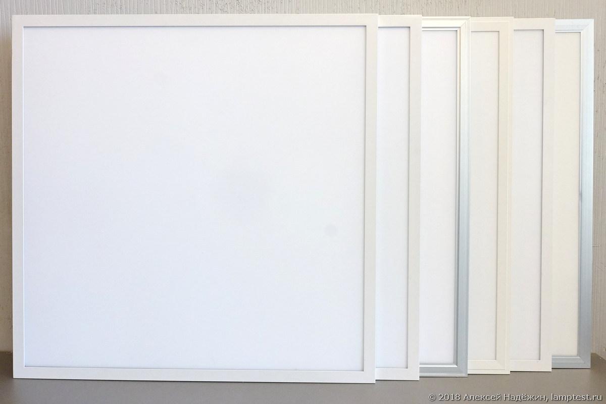 Тестирование LED-панелей 60x60 - 1