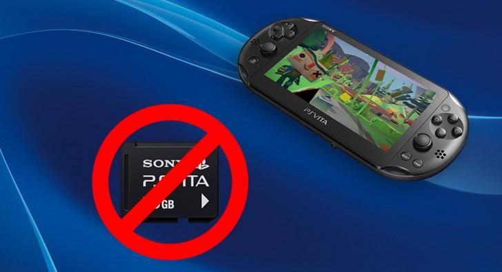 Sony прекратит производство картриджей для PS Vita в этом году