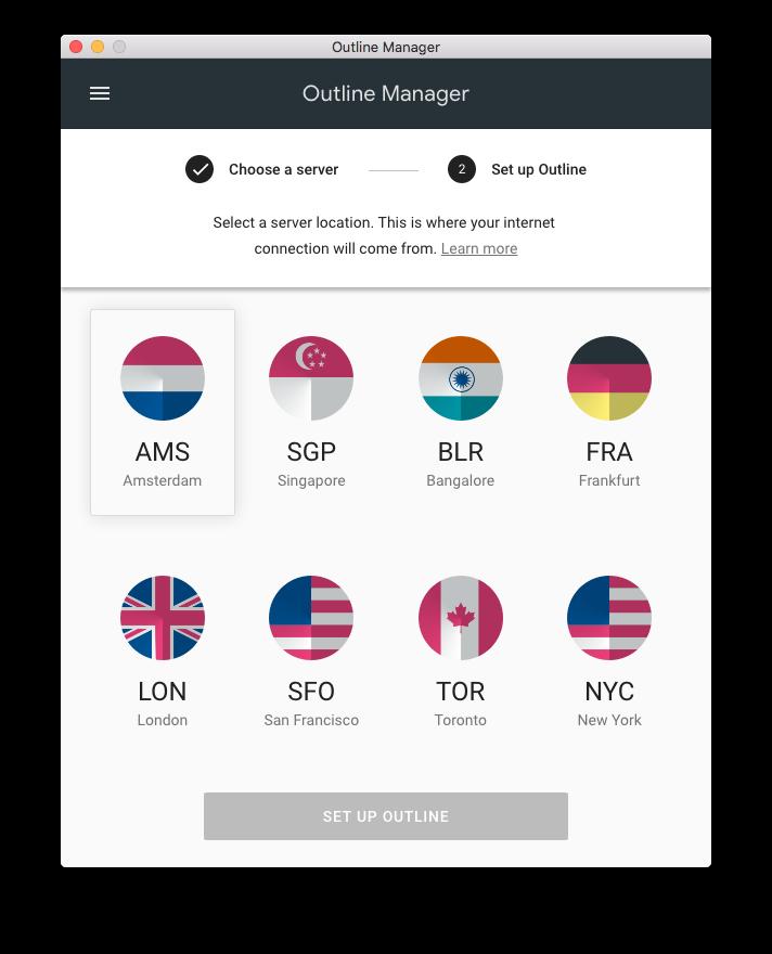 Outline: Делаем свой личный VPN от Google за 5$ в месяц (и за 1€ для продвинутых) - 3