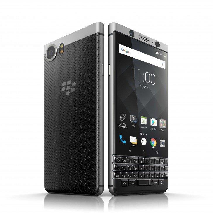 BlackBerry Keyone получит не только майское обновление безопасности, но Android Oreo