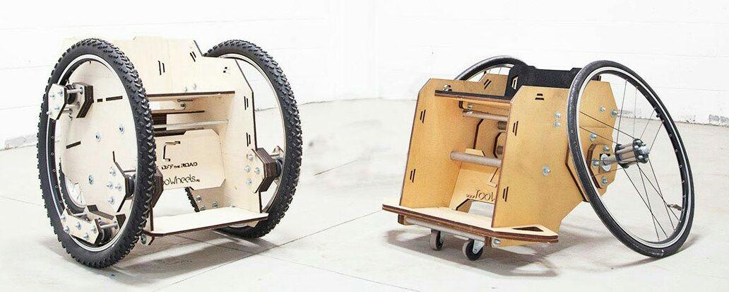 TooWheels — инвалидная коляска с открытой документацией - 1