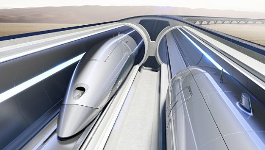 Hyperloop хотят использовать для путешествий вокруг земли