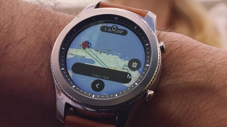 Samsung может использовать Wear OS для своих новых умных часов