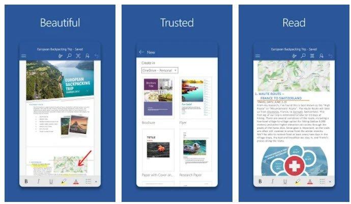 Word для Android стало первым приложением Microsoft после Skype, которое установили более полумиллиарда раз