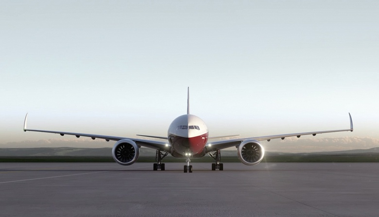 Агентство FAA разрешило складные крылья на пассажирском самолете Boeing 777X