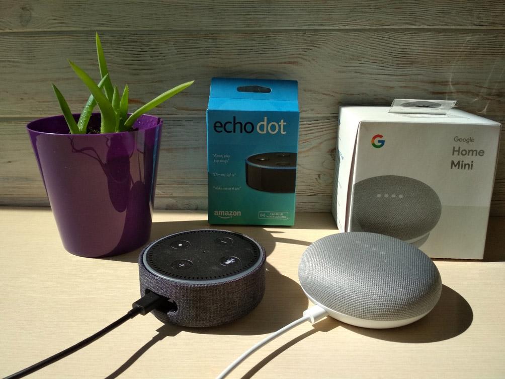Amazon Echo Dot vs. Google Home Mini — какой помощник лучше? - 1