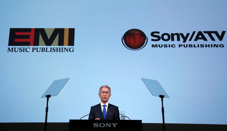 Sony становится крупнейшим музыкальным издателем, покупая EMI за 2,3 млрд долларов