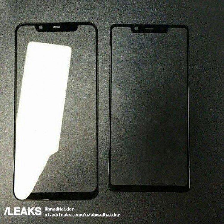 Фото дня: передние панели Xiaomi Mi 8 и Xiaomi Mi7