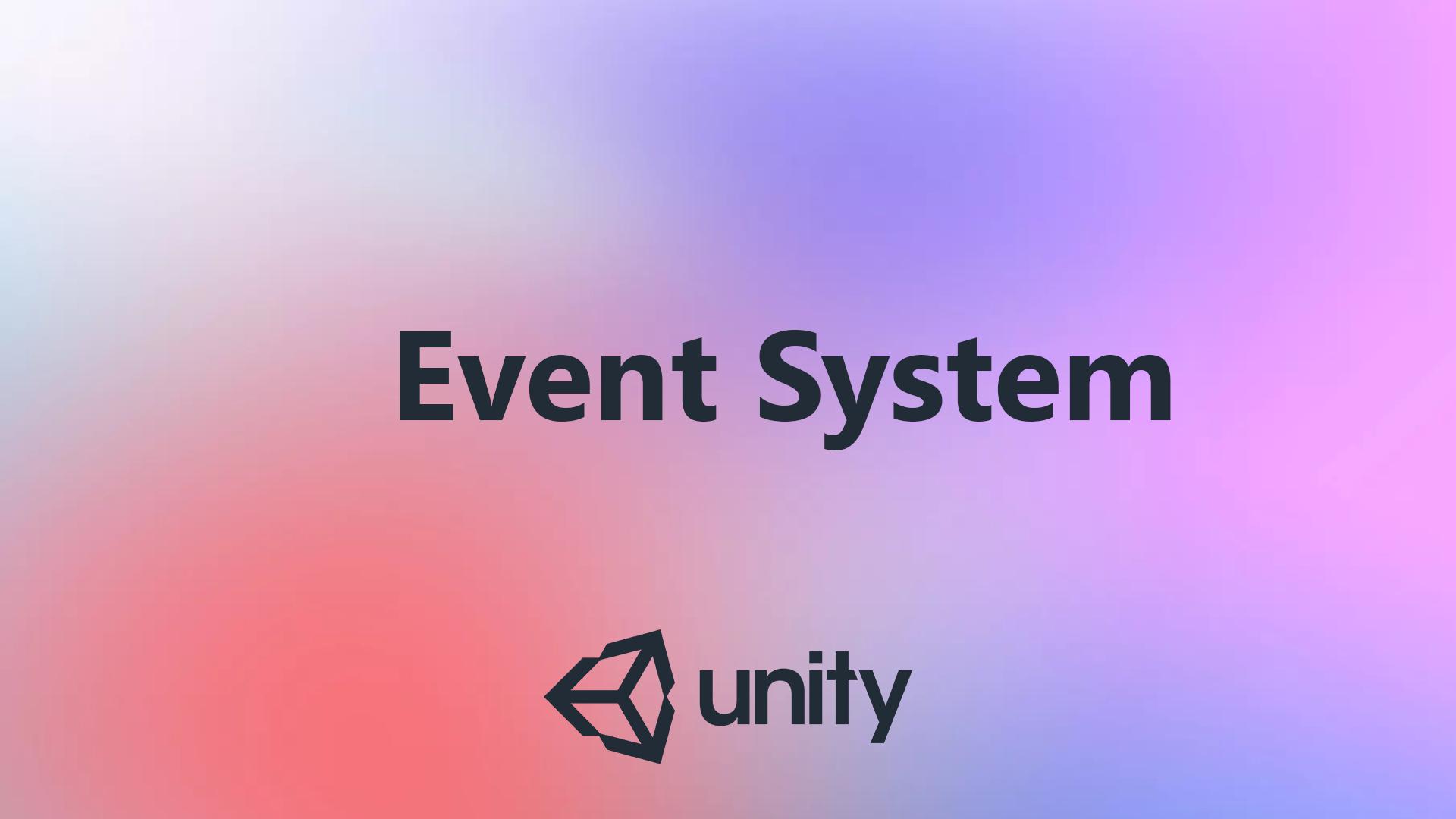 Работа с EventSystem в Unity. Базовые вещи в работе с UI - 1