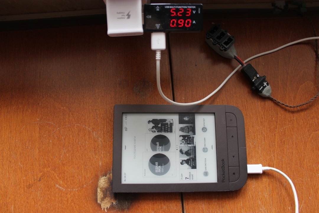 Суровый хенд-мейд от инженера-электронщика: разбираем PocketBook 631 Plus и оснащаем его солнечной батареей - 31
