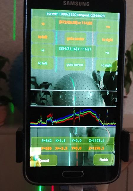 3D лазерный сканер на Android телефоне - 5