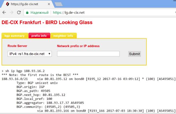 Selectel IPv4 prefix route leaking - 10